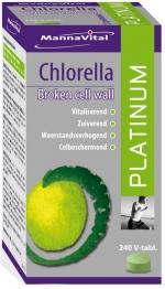 Mannavital Chlorella Platinum Abc Gezondheid