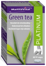 Mannavital Green Tea Platinum